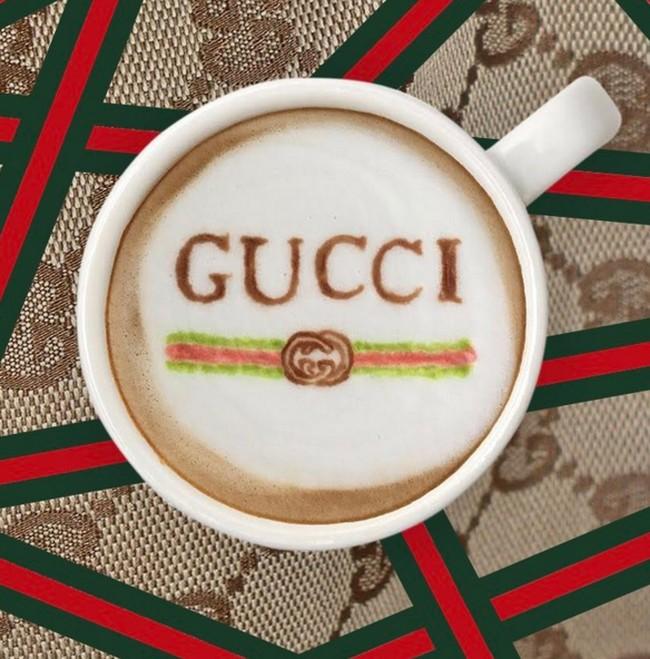 Coba Lihat Logo Gucci, Hermes dan Adidas Ditampilkan di Latte Art Ini!