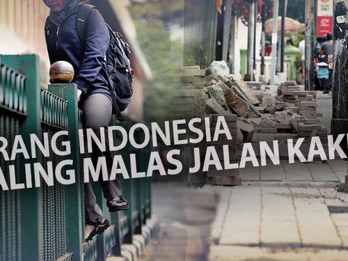 Yuk Nonton! Ini Bukti Video Aksi Nyata Orang Indonesia Malas Jalan Kaki