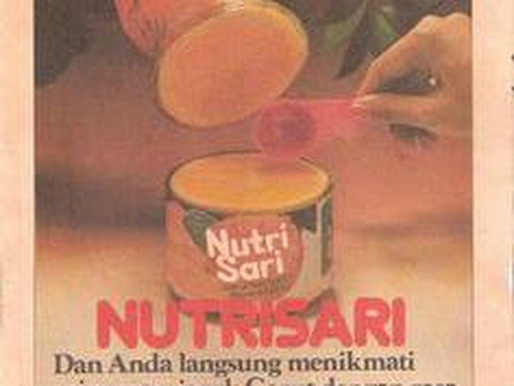 Sebelum muncul iklan Nutrisari yang dimodeli oleh Joshua, ternyata ini iklannya minuman serbuk jeruk ini.