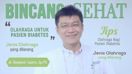Kena Diabetes, Tetap Perlu Olahraga Tapi Ada Aturannya