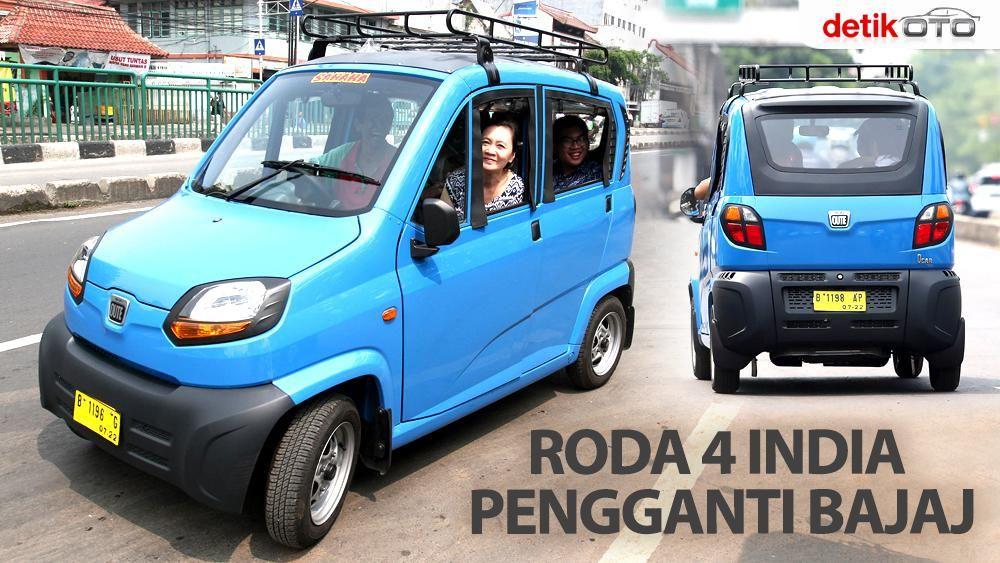 Roda 4 India Pengganti Bemo