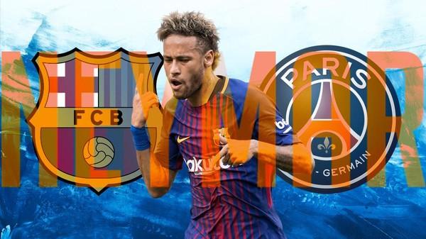Neymar Tinggalkan Barca untuk PSG