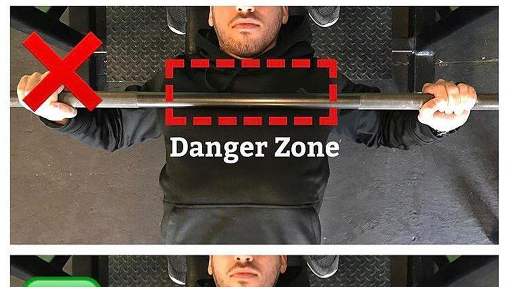 Awas Cedera! Potret Kesalahan-kesalahan Pemula Saat Nge-gym