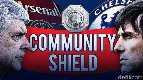Arsenal Juara Community Shield
