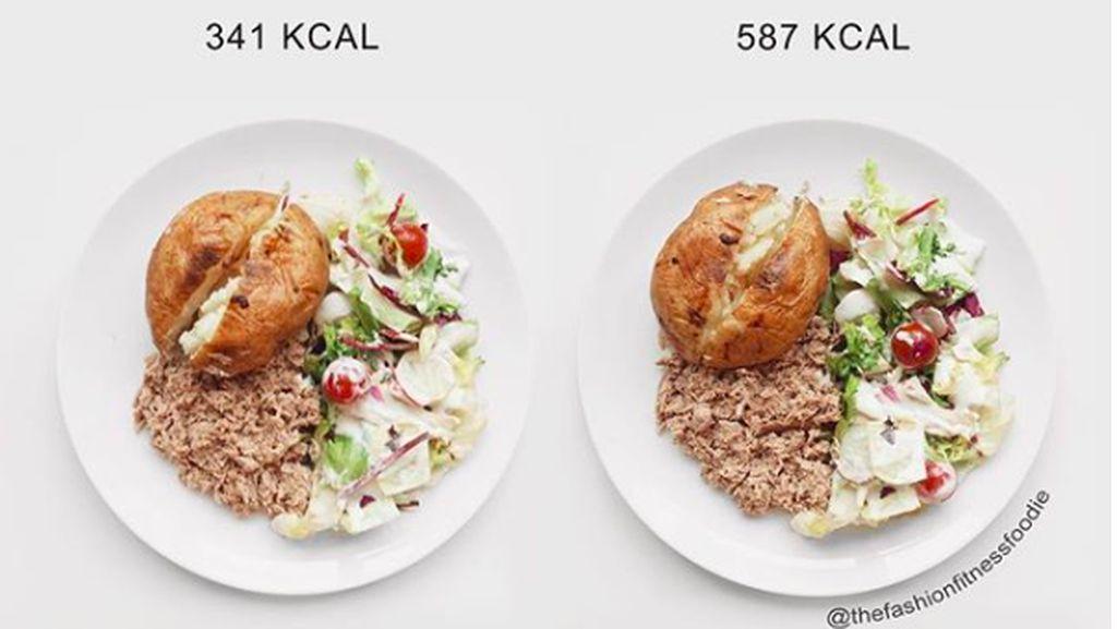 Foto: Boleh Dicontek! Ini Perbandingan Kalori dalam Makanan Sehat