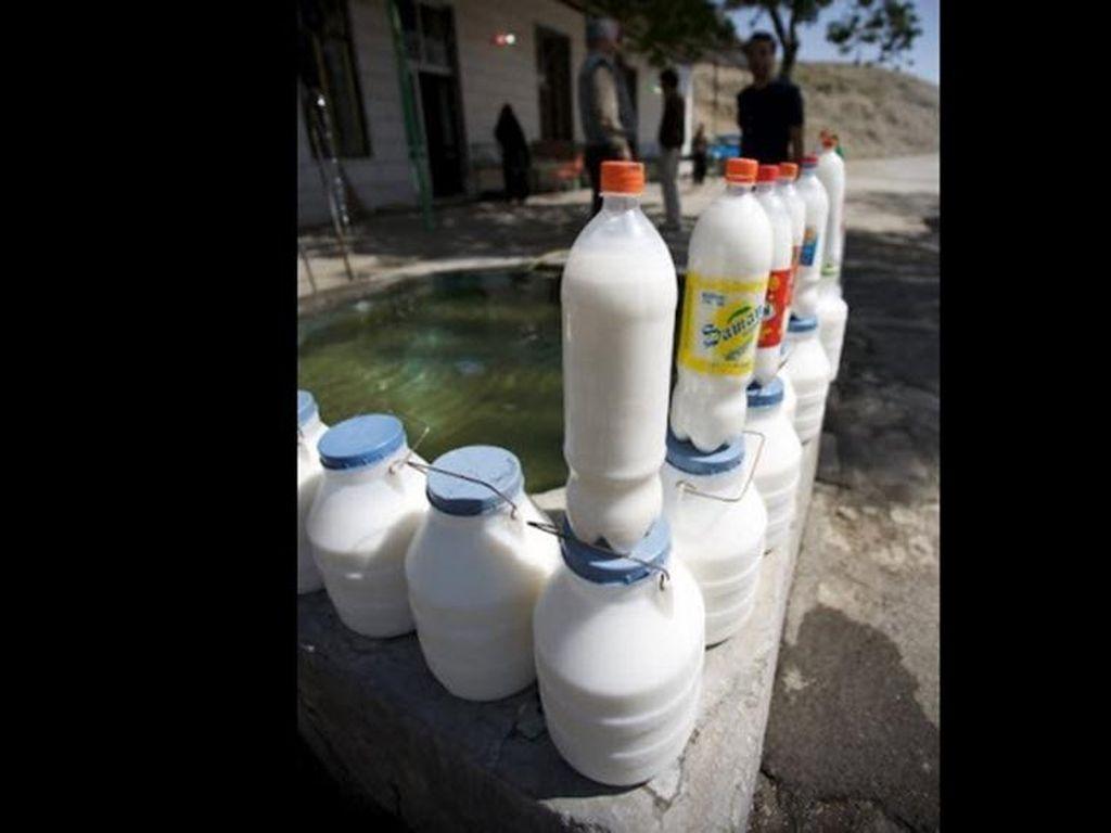 Soda dengan rasa yogurt ini ternyata cukup terkenal di negara Timur Tengah. Rasanya gimana ya, jadi penasaran. (Foto: Istimewa)