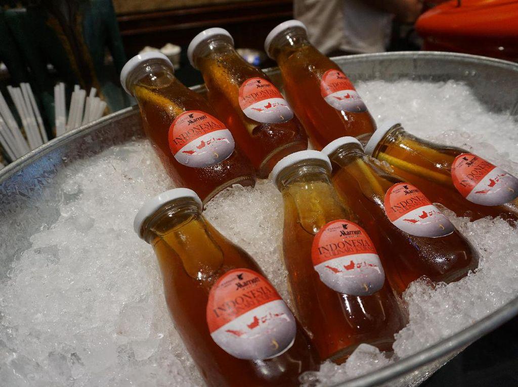 Ada juga bir pletok yang dipadu dengan rempah-rempah. (Foto: detikFood)
