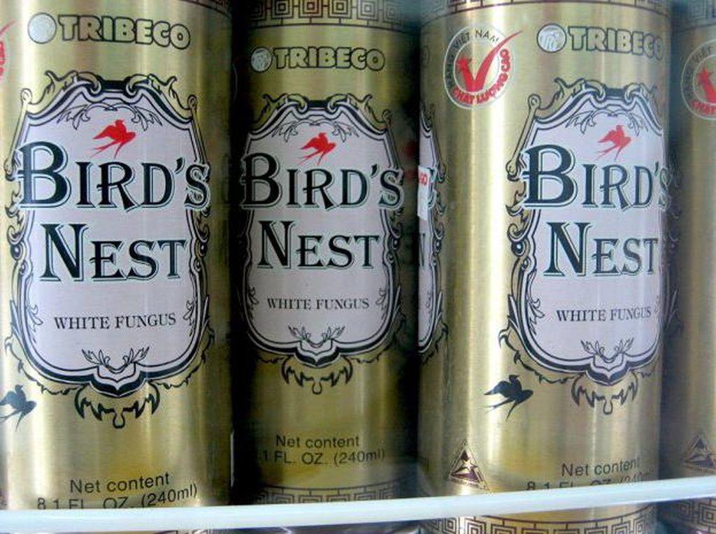 Tribeco Bird's Nest White Fungus terbuat dari sarang burung walet. Minuman ini populer di beberapa wilayah Asia, seperti Vietnam. Selain dibuat dari sarang burung walet juga jamur putih. Foto: Istimewa