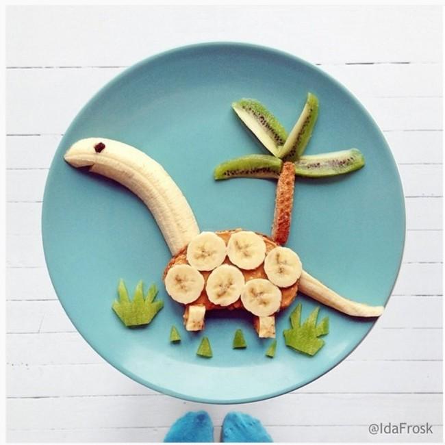 Agar si Kecil Lahap Makan, Ini 16 Ide Lucu dan Unik Menata Makanannya