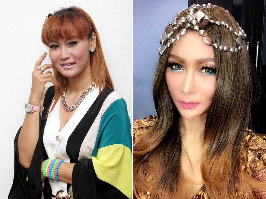 Foto: 9 Perubahan Wajah Artis Cantik yang Dulu Tembem Sekarang Tirus