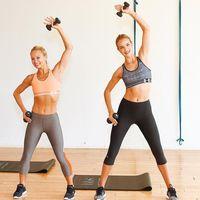 Rosie Huntington-Whiteley adalah salah satu dari banyak selebriti Hollywood yang mengikuti kelas fitness-nya. (Foto: instagram/bodybysimone)