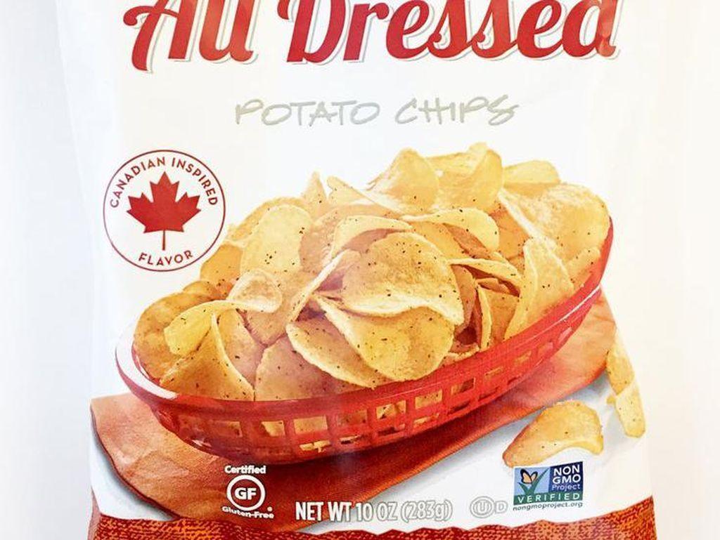 Whole Foods 365 All Dressed Potato Chips menjadi dambaan pencinta keripik. Keripik ini dibumbui dengan kombinasi kecap, saus tomat, krim asam, bawang dan rasa BBQ yang sempurna.