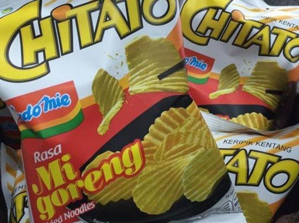 Potato chips semakin populer di Indonesia dengan munculnya varian rasa Chitato Rasa Indomie Mie Goreng. Indomie goreng merukan salah satu mie instan yang banyak disukai oleh orang Indonesia.