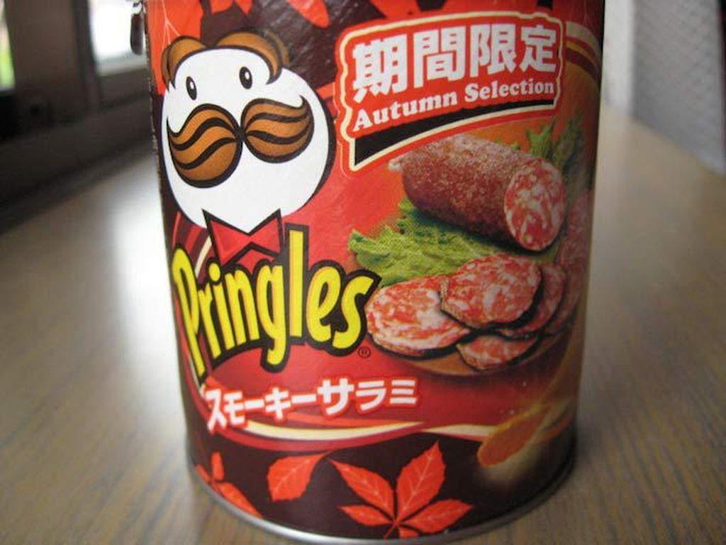 Kalau Pringles ini punya rasa smoked salami. Gimana ya rasanya? Foto: Istimewa