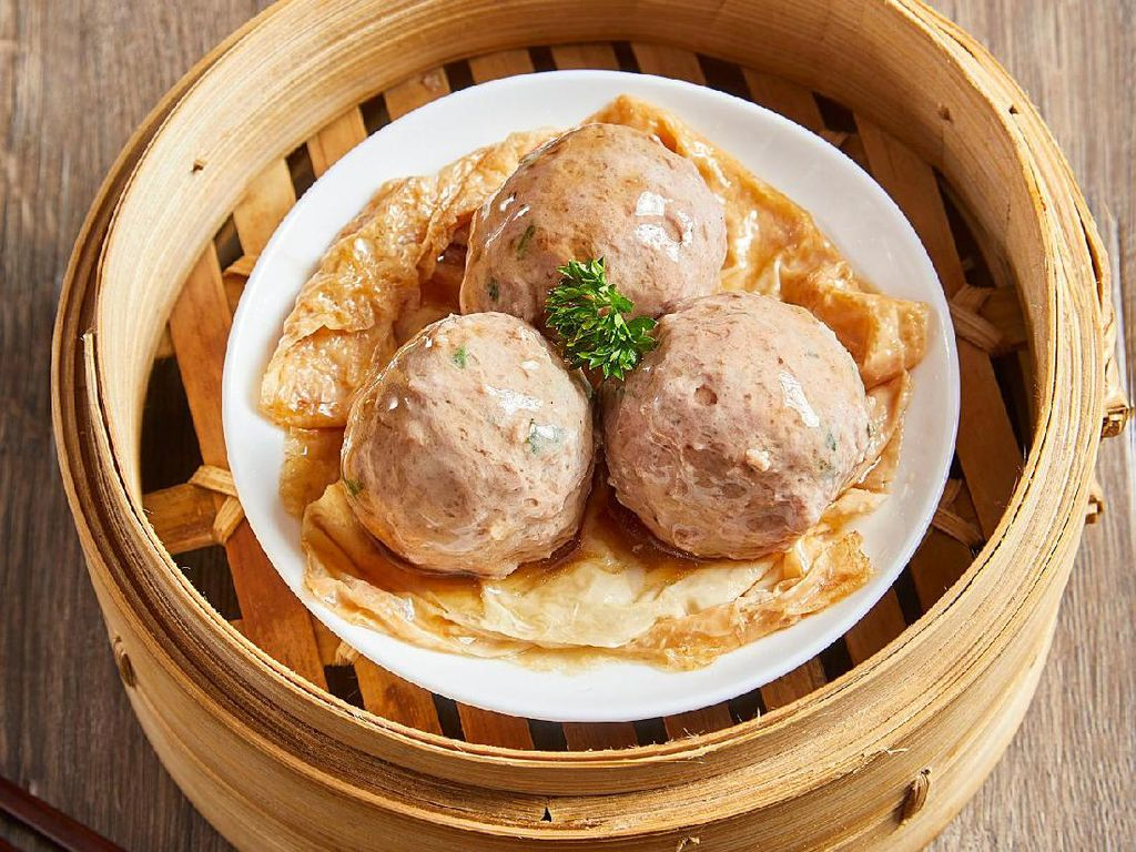 Resep Dim Sum : Steamed Beef Ball