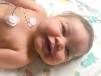 Transplantasi jantung tak hanya dilakukan pada orang dewasa. Transplantasi jantung juga membuat bayi ini bisa meniti masa depannya. (Foto: Instagram/warriorlincoln)