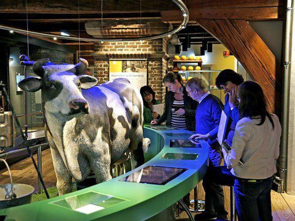 Dikenal sebagai kota keju, Alkmaar di Belanda cocok bagi penggemar keju. Apalagi di sini ada Dutch Cheese Museum untuk belajar lebih banyak tentang dua keju populer Belanda yaitu Edammer dan Gouda.