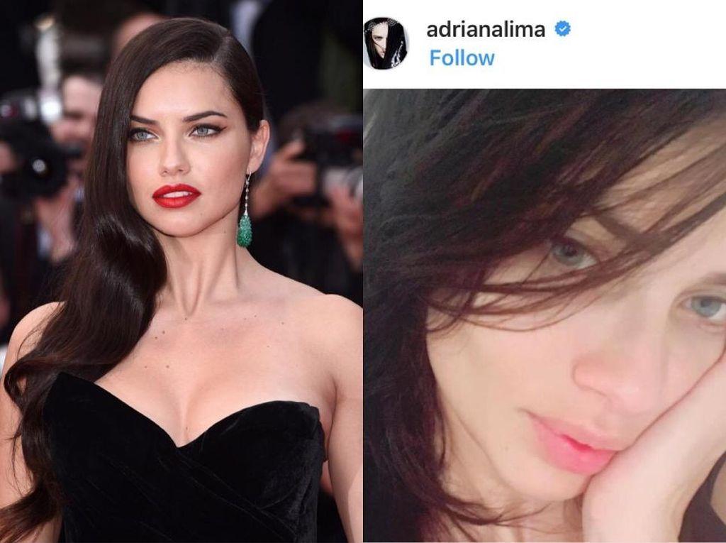Foto: Wajah Asli 12 Top Model Dunia Tanpa Makeup, Semuanya Cantik