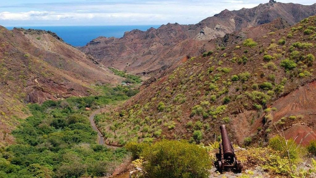 Foto: Pulau Cantik Terpencil Tempat Pengasingan Napoleon