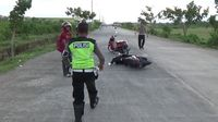 Dibubarkan Polisi, Peserta Balap Liar Sembunyi di Gudang