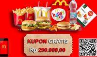 Kata McDonald's Soal Heboh Voucher Gratis yang Viral di WhatsApp
